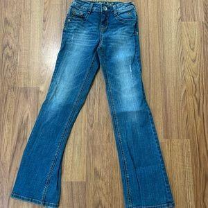 Justice jeans size 10 slim